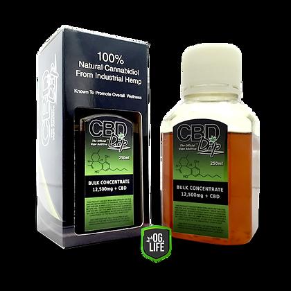 CBD Drip Hemp E-Liquid Additive Extract - 12500mg Bulk Concentrate