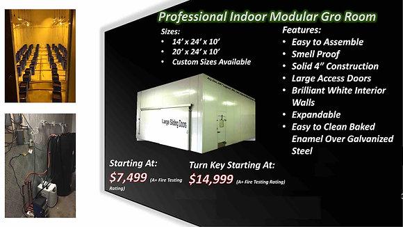 Custom Modular Smell Proof Grow Rooms