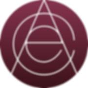 Actors Circle Ensemble Logo Monogram Red