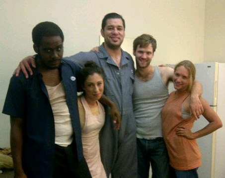 "The Cast of ""The Dirt and Its Harp In Her Mouth"""