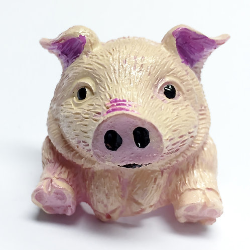 Piggy Scout Woggle/Neckerchief Slide WK110