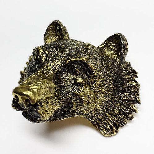 Wolf Metal Scout Woggle/Neckerchief Slide WK03