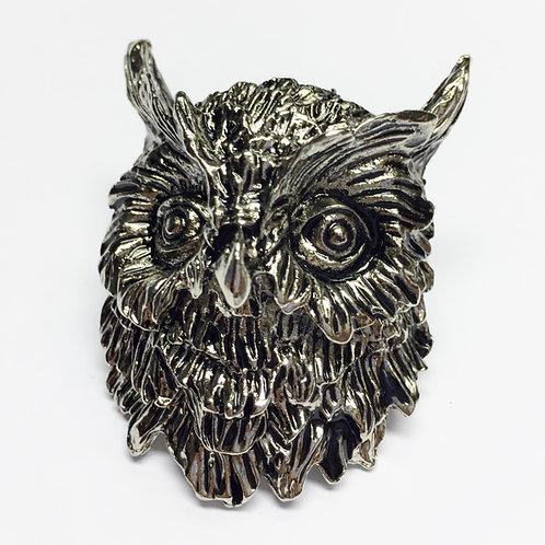 Owl Scout Woggle/Neckerchief Slide WK81
