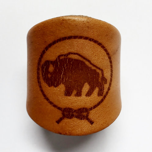 Woodbadge Animal Buffalo Woggle WK43