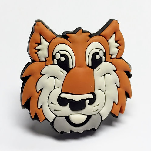 Wolf Soft Plastic Scout Woggle WK84