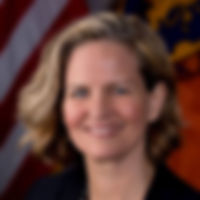 Official photograph of Nassau County Executive Laua Curran