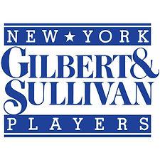 New York Gilbert & Sullivan Players Logo in Blue