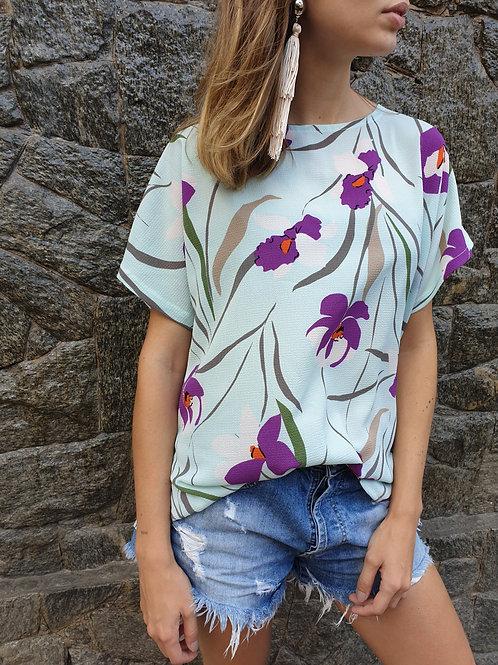 Blusa Canoa | Orquídea
