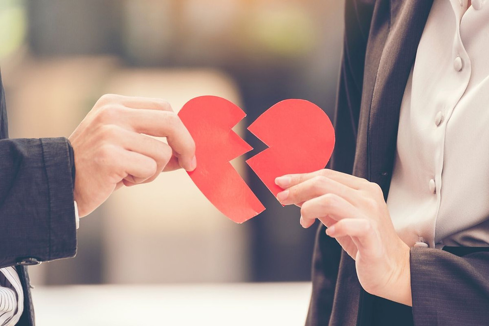 Valentine's Day divorce - Kemet Hunt Law
