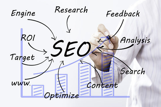 Businessman hand drawing SEO concept.jpg