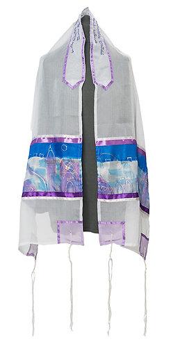 Jerusalem messianic prayer shawl tallit