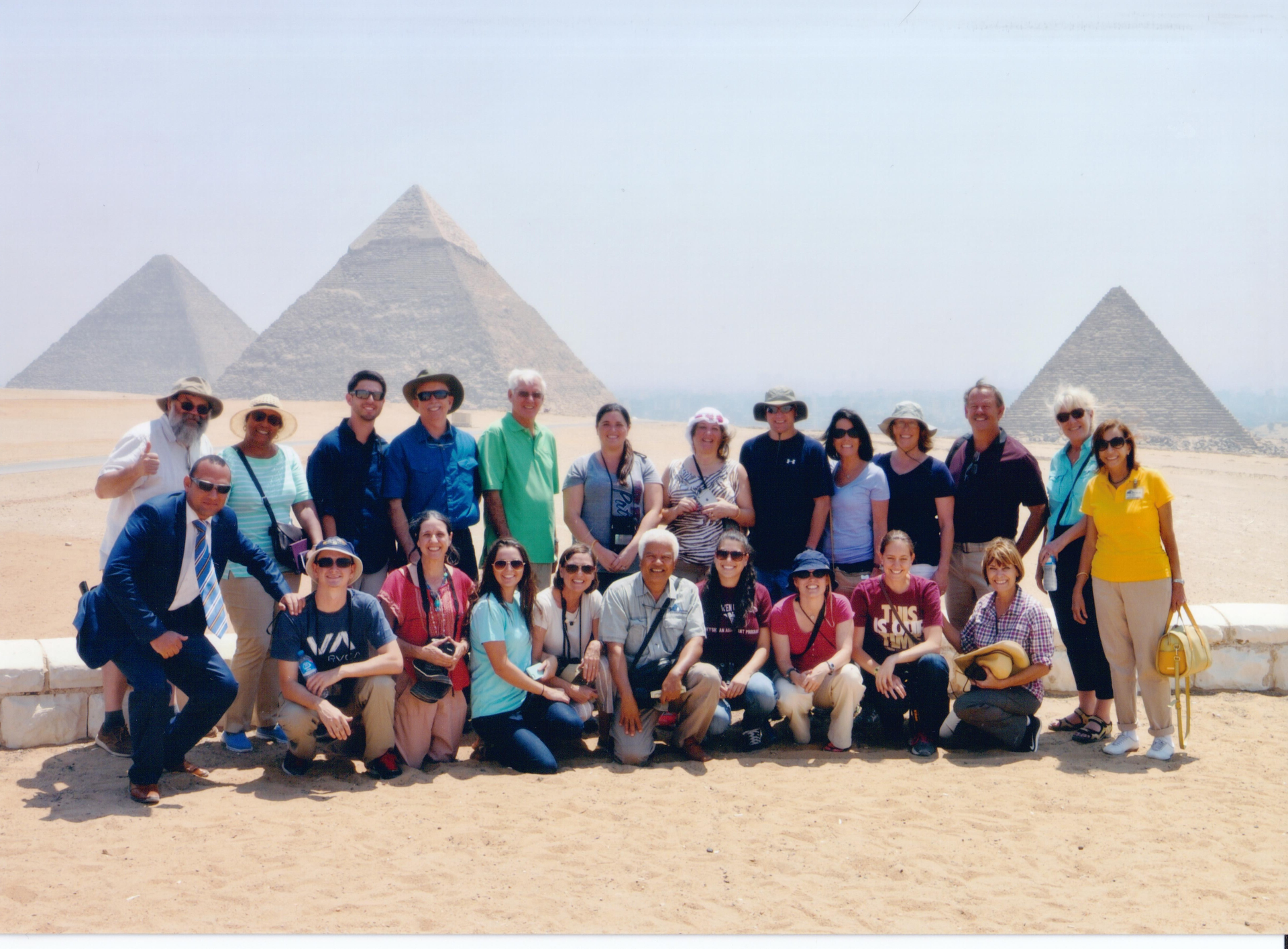 HLO Tours group trip in Egypt