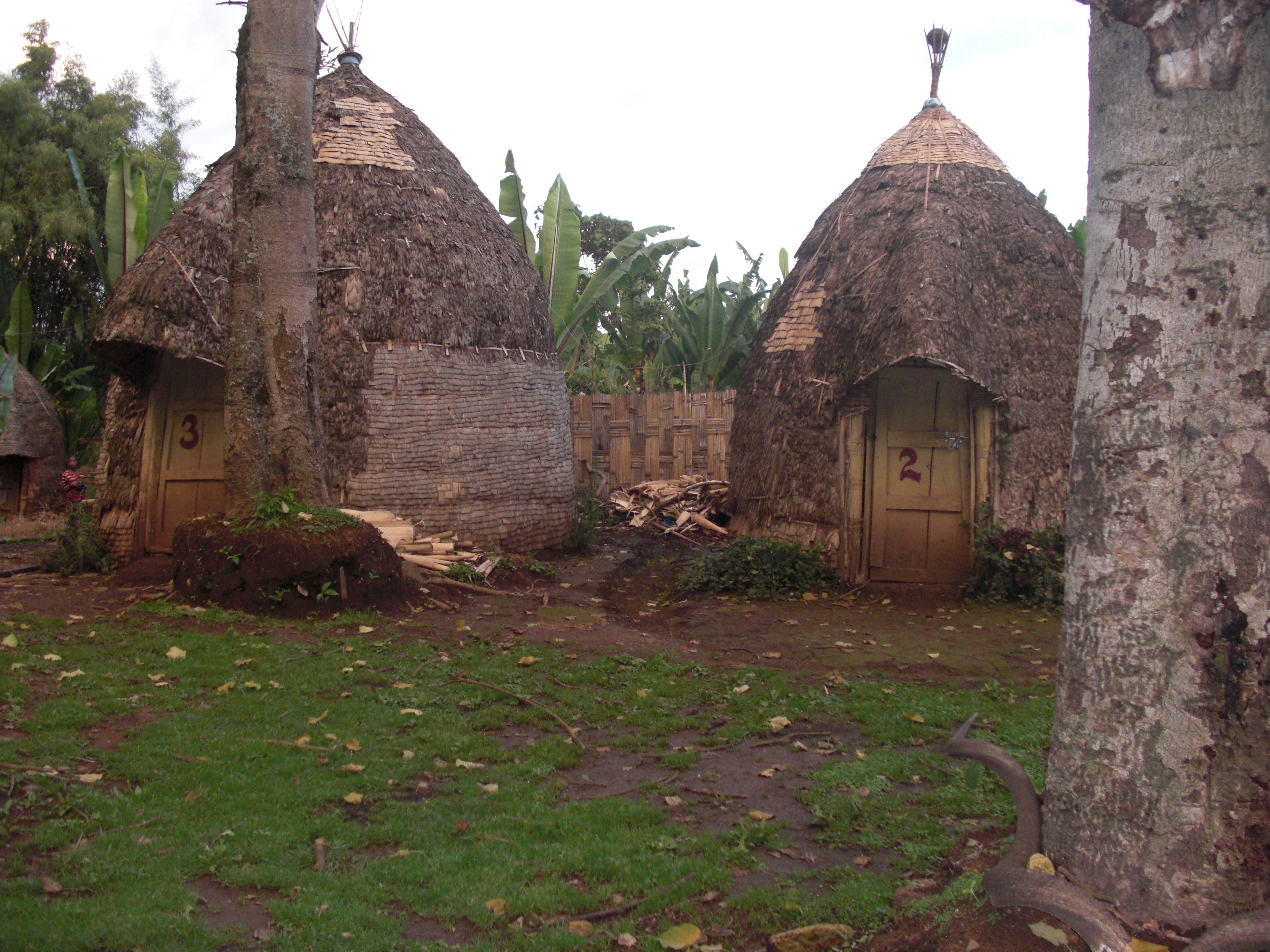 Ethiopian village available for rent