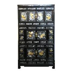 Korean Antique 3 stories chest