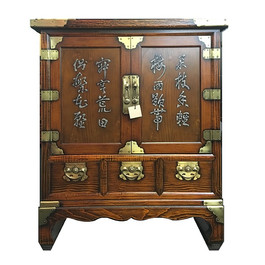 Korean Chest with Kanji poet