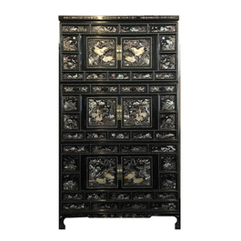 Korean Antique 3 stories  chest