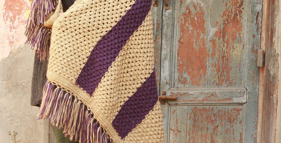 Combination Crochet Shawl