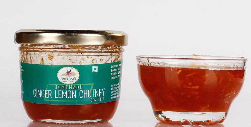 Ginger Lemon Chutney