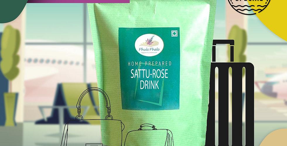Sattu Rose Drink