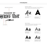 Brand Elements - Typography