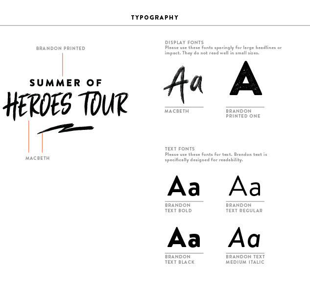 Brand Elements - Typography