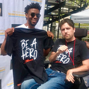 Be A Hero in Action - Chadwick Bozeman