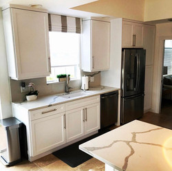Divosta Home - White Satin Shaker Style