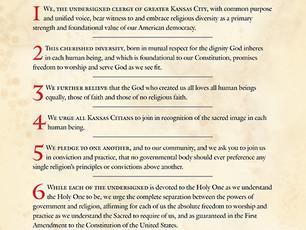 Interfaith Statement