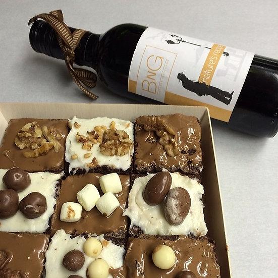 Brownies N wine