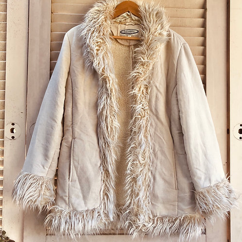 Vintage Aladin Label Faux Suede Penny Lane Coat
