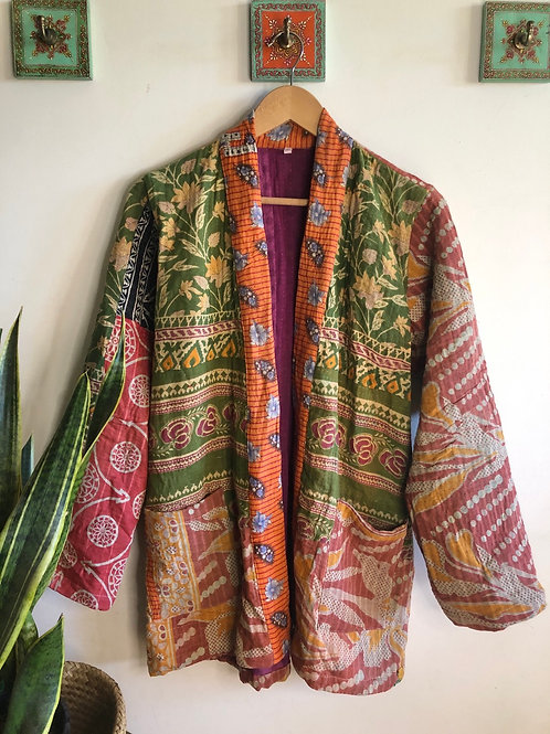 Vintage Kantha Coat  #2 S/M