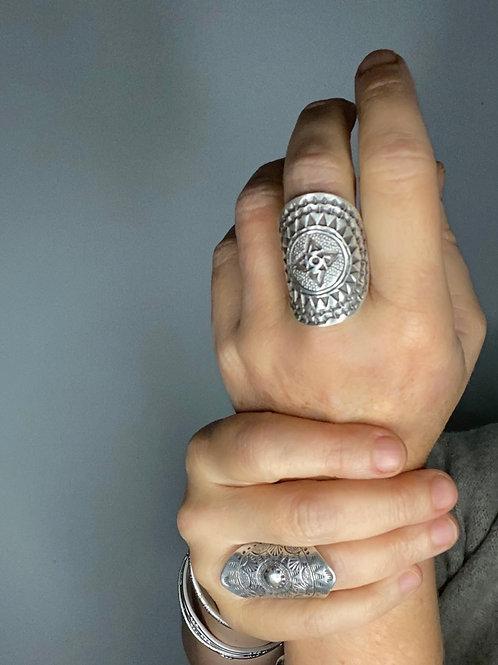 Hilltribe Silver Star Ring
