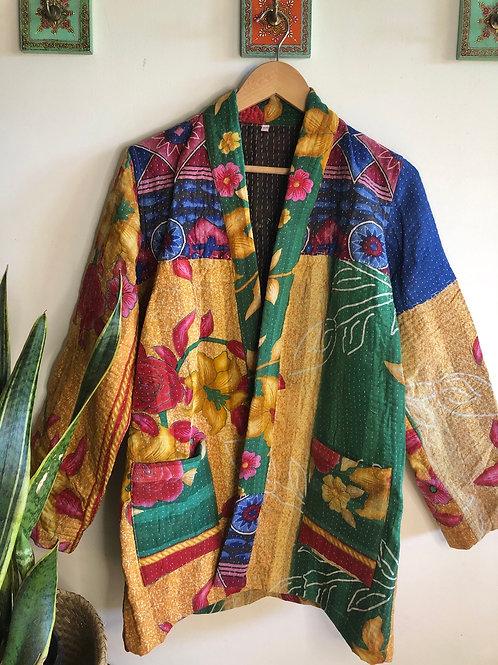 Vintage Kantha Coat  #8 S/M