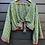 Thumbnail: Indian Silk Sari Wide Sleeve Top