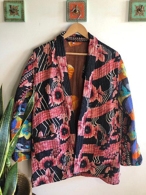 Vintage Kantha Coat  #5 S/M