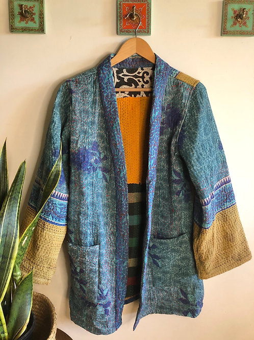 Vintage Kantha Coat  #7 S/M