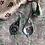 Thumbnail: Silver Rajasthani Temple Earrings