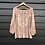 Thumbnail: Freya Folk Blouse  - Dusty Pink