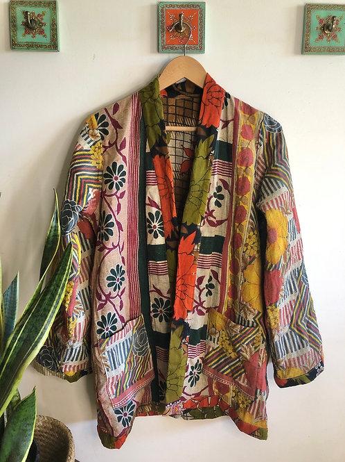 Vintage Kantha Coat  #6 S/M