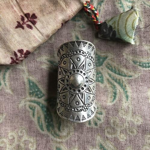 Mandala Ring - Hilltribe Silver