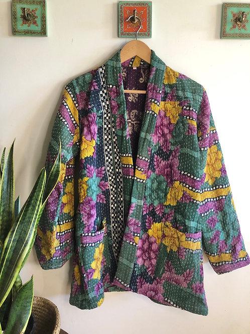 Vintage Kantha Coat  #3 S/M