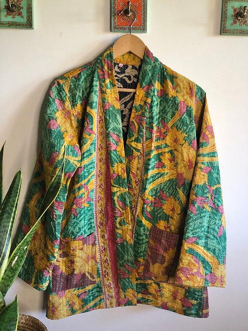 Vintage Kantha Coat  #4 S/M