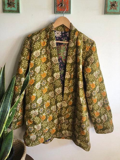 Vintage Kantha Coat  #1 S/M