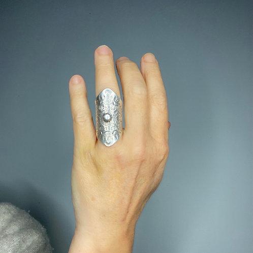 Hilltribe Silver Sunburst Ring