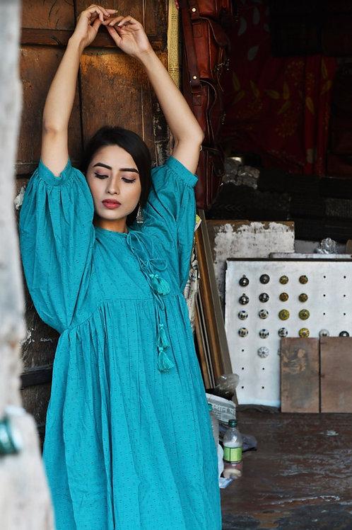Marvi Dress ~ Peacock