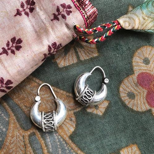 Indian Raja Hoops - small