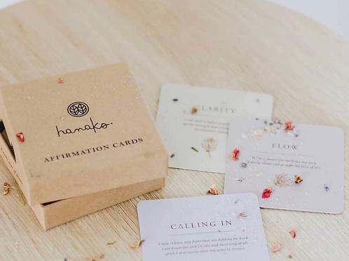 Hanako Therapies Affirmation Cards Set