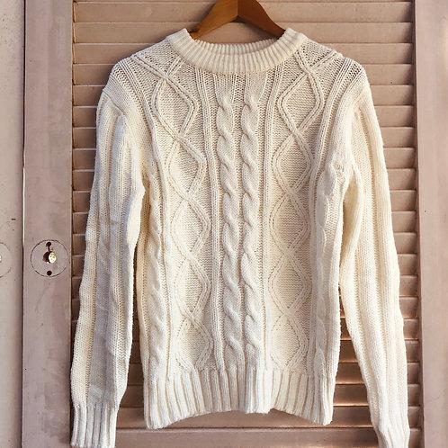 Vintage Sears Sportswear Fishermans Knit