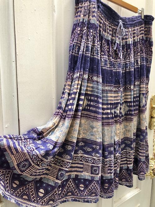 Teen Jac Indian Gauze Skirt