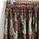 Thumbnail: Indian Silk Tiered Maxi Skirt S/M